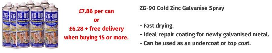 ZG90500ML Zinc Spray