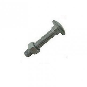 M16x75  Cup  Square  Hex  Coach  Bolts  Galvanised