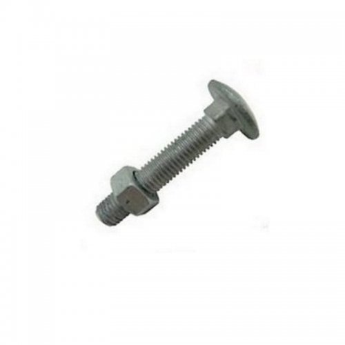 M16x160  Cup  Square  Hex  Coach  Bolts  Galvanised