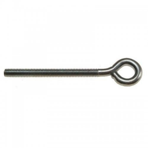 Folded  Eye  Bolts  Zinc  Plated