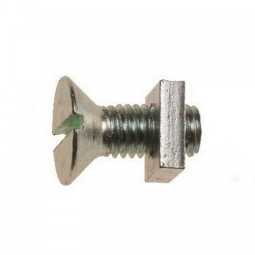 M5x20 Gutter Bolts With Square Nuts Zinc Plated (Pack of 200)*