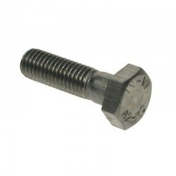 M5x30  Hex  Head  Bolt  Stainless  Steel