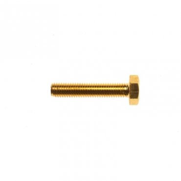 M6x40  Hex  Head  Set  Screws  Brass