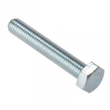 M4x10  Hex  Head  Set  Screw  Zinc  Plated