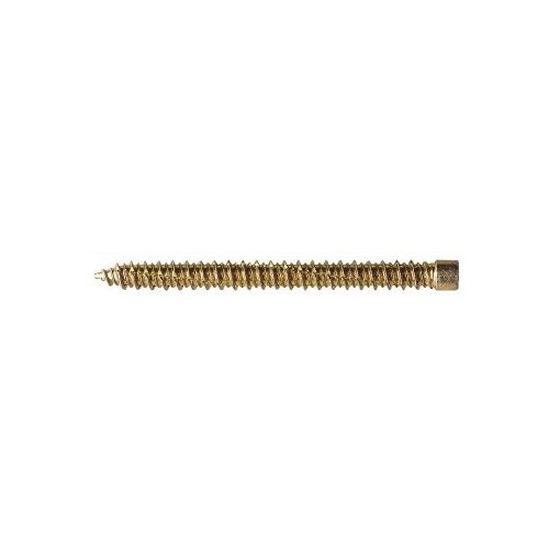 7.5mm x 100mm Cylindrical Concrete Screws - Yellow Zinc Plated (Pack of 100)