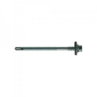 Metalfix  High  Thread  Self  Drilling  Screws  Zinc  Plated