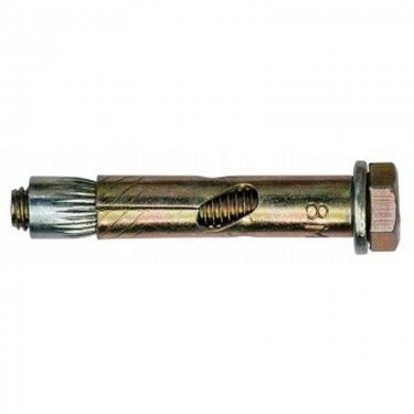 Sleeve  Anchors  With  Hex  Bolt  -  Zinc  Yellow  Plated
