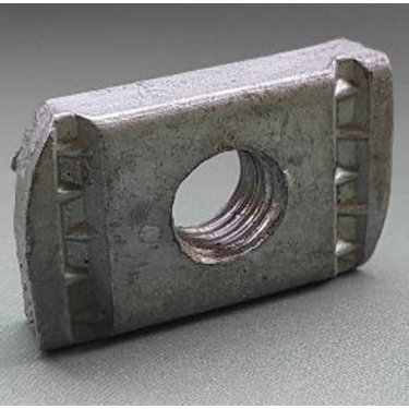 M8  Channel  Nuts  Galvanised  -  No  Spring