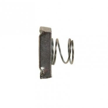 M12  Channel  Nuts  Zinc  Plated  -Short  Spring