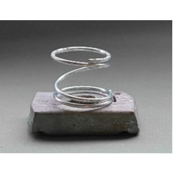 M10  Channel  Nuts  Galvanised  -  Long  Spring