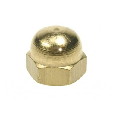 Dome  Nuts  Brass