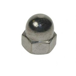 M4  Dome  Nuts  Stainless  Steel