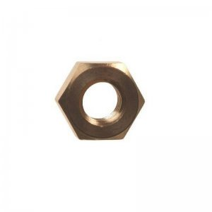 Hexagon Full Nuts Brass
