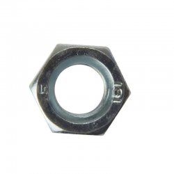 M12  Full  Nuts  Zinc  Plated