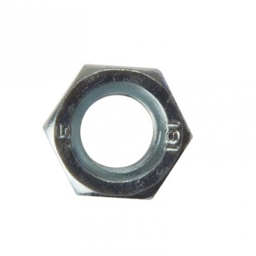 M2.5  Full  Nuts  Zinc  Plated