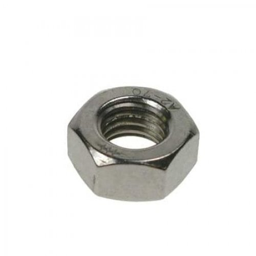 1/2 UNC Full Nuts Stainless Steel (Pack of 50) [BS 1768 Grade 304 A2]