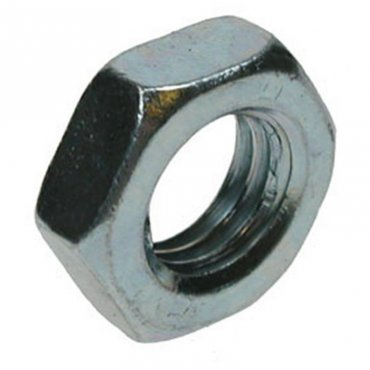 M14  Hexagon  Half  Nuts  Zinc  Plated