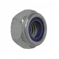 M10  Nyloc  Nuts  Type  'T'  Galvanised  Grade  10