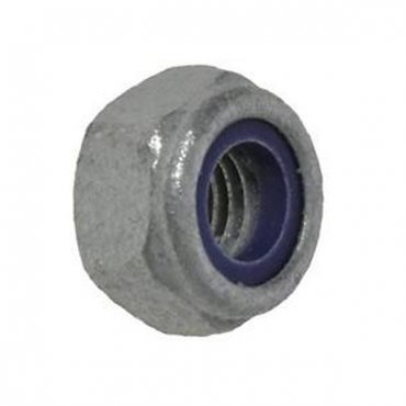 M20  Nyloc  Nuts  Type  'T'  Galvanised  Grade  10