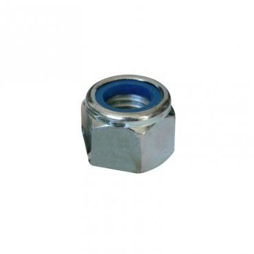M12  Nyloc  Nuts  Stainless  Steel
