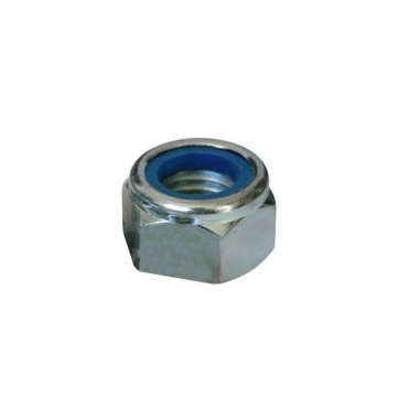 Nyloc  Nuts  Zinc  Plated  Type  T  [Fine  Thread]