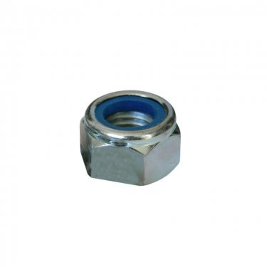 M5  Nyloc  Nuts  Zinc  Plated