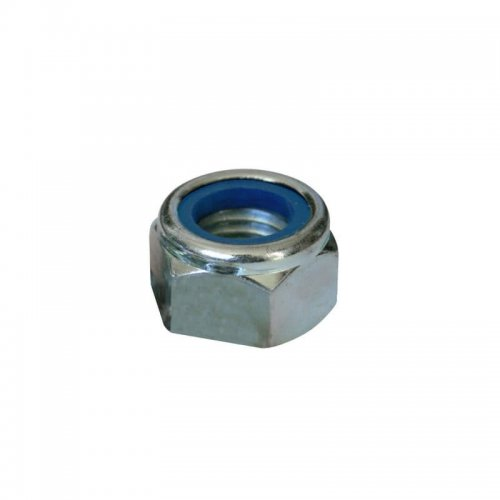 M12  Nyloc  Nuts  Zinc  Plated