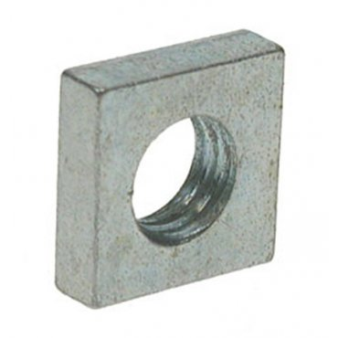 M8  Square  Nuts  Zinc  Plated
