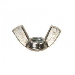 M5  Wing  Nuts  Zinc  Plated