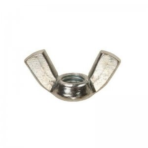 Wing Nuts Zinc Plated