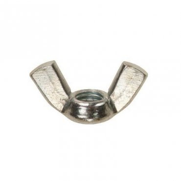 M8  Wing  Nuts  Zinc  Plated