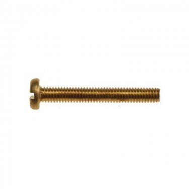 Brass  Pan  Head  Slotted  Machine  Screws