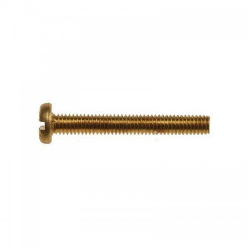 Brass  Pan  Head  Slotted  Machine  Screws