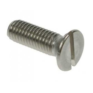 Slotted  Countersunk  Machine  Screws  Stainless  Steel  [Grade  316  A4]