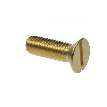 Csk  Slotted  Machine  Screws  Brass