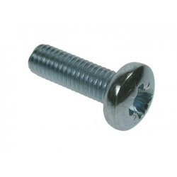 Pan  Recessed  Machine  Screws  Zinc  Plated