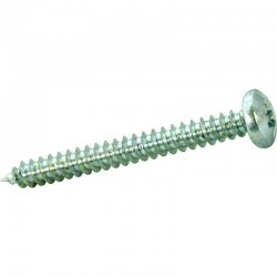 Pozi  Pan  Self  Tapping  Woodscrews  Zinc  Plated