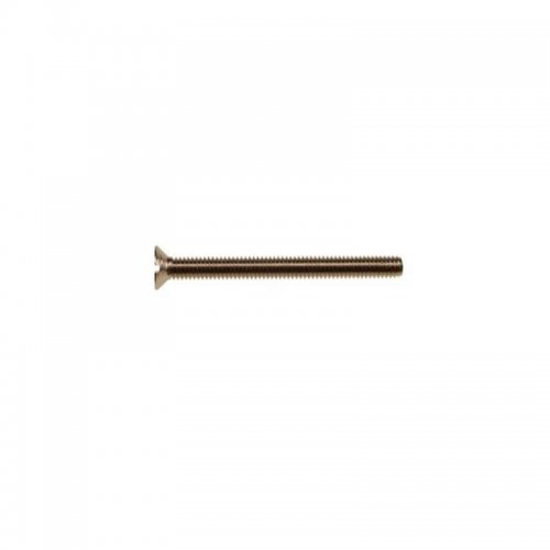 Brass  Csk  Slotted  Nickel  Plated  Machine  Screws