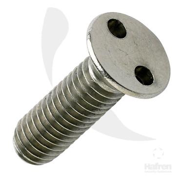 2  Hole  Metric  Csk  Machine  Screws  Stainless