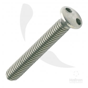 2  Hole  Metric  Raised  Csk  Machine  Screws  Stainless