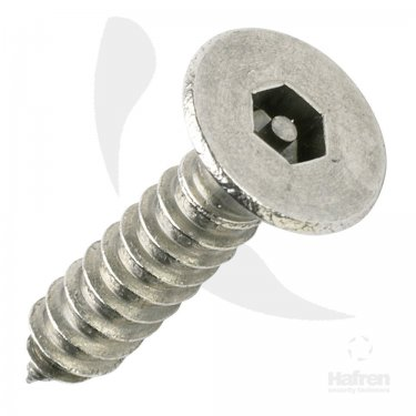 Pin  Hex  Csk  Self  Tapping  Screws  Stainless