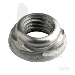 Scroll  Nuts  Stainless  Steel  [Grade  303 S31]