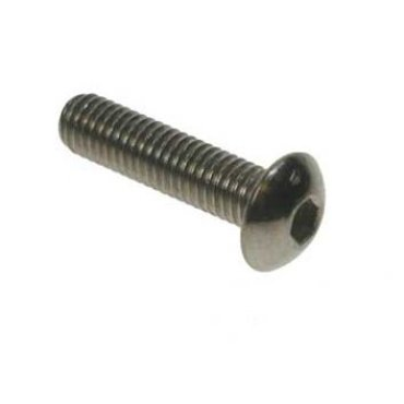 M3x12  Button  Socket  Screws  Stainless  Steel