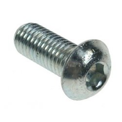 M6x8  Button  Socket  Screws  Zinc  Plated