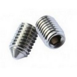 M12  Cone  Point  Socket  Set  Screws  Self  Colour