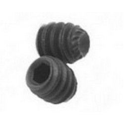 M12  Knurled  Cup  Point  Socket  Screws  Self  Colour