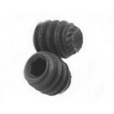 M5  Knurled  Cup  Point  Socket  Screws  Self  Colour