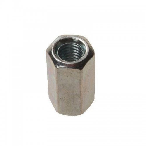 M6  Studding  Connectors  Zinc  Plated