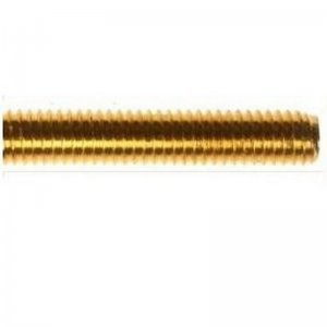 Threaded Bar - Brass