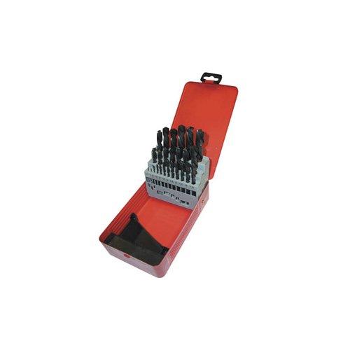 HSS 19 Piece Metric Drill Set 1-10mm